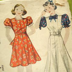 1930's girls dresses - Google Search