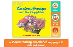 Curious George and the Firefighters by iRead is the perfect way to read and play! Curious George Games, Best Educational Apps, Interactive Stories, Shared Reading, News Apps, 4 Year Olds, Great Stories, Learn To Read, Games For Kids