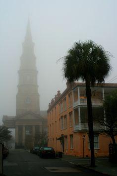 Foggy Morning, Charleston, SC