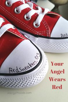 """""""Food allergies are so often pushed into the background because it is an invisible disease- until it's not."""" click to read more.. #redsneakers #oakley_red #livelikeoaks #foodallergy #red #anaphylaxis #parenting #health #article #support"""
