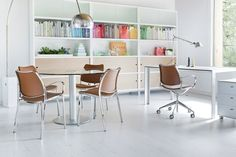 The STUA office with Gas chairs, Sapporo storage system and Zero and Deneb tables.