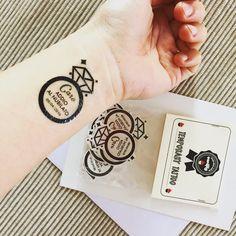 Tatuaggi per addio al nubilato.
