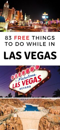 Over 80 of the best Free Things to do in Las Vegas that you do NOT want to miss out on. A great mix of Adult only and family-friendly activities and sights to see.