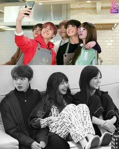 Kpop Couples, Cute Couples, Lisa, Pink Official, When Youre In Love, Blackpink Video, Bts Imagine, Ulzzang Couple, Blackpink And Bts