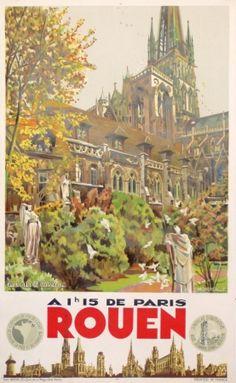 Rouen vintage by Monsznergue ca. 1920