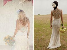 Boda Bella: Tendencia: Vestidos de novia con escote en la espalda