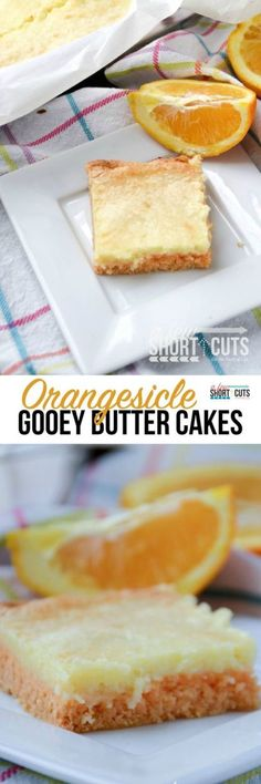 OH MY GOODNESS! This is childhood memories stuffed in an ooey gooey dessert! Say hello to this Orangesicle Gooey Butter Cake Recipe. You have to make it to believe just how tasty this dessert is!