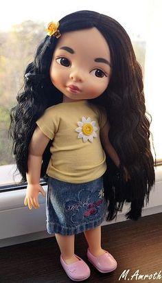 Use old jean leg? Mulan Doll, Disney Princess Dolls, Disney Animator Doll, Disney Dolls, Merida, Tiana, Aladdin, Girl Dolls, Baby Dolls