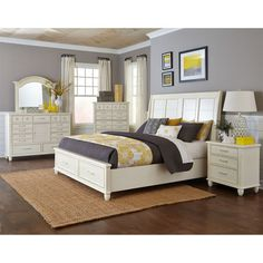 Winchester panel customizable bedroom set http for Winchester bedroom furniture