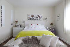 Open house - Mia Athayde. Veja: http://casadevalentina.com.br/blog/detalhes/open-house--mia-athayde-2907  #decor #decoracao #interior #design #casa #home #house #idea #ideia #detalhes #details #openhouse #style #estilo #casadevalentina #bedroom #quarto #dormitorio
