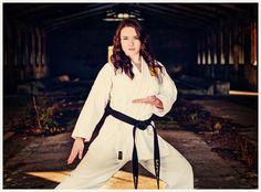 Senior Photo Karate Pose  Bella Vita Creative Photography, Mount Vernon, WA  www.bellavitacreative.net