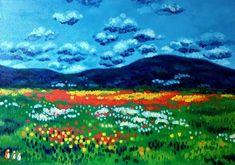 Hegyek szomszédai (Nana83) - Meska.hu Minion, Techno, Painting, Art, Art Background, Painting Art, Kunst, Minions, Paintings