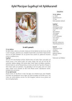 Apfel-Marzipan-Kuchen mit Apfelkaramell | Das Knusperstübchen