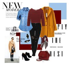 """""""casual style"""" by manoumit ❤ liked on Polyvore featuring Giuseppe Zanotti, Rebecca Minkoff, Ralph Lauren and Larsson & Jennings"""