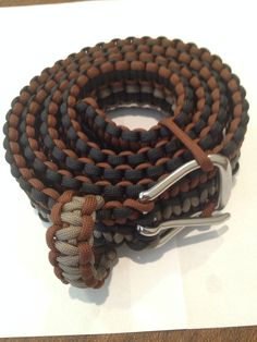 Paracord Belt, Cutome Made, Hand Made