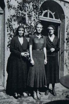 Three Generations: Grand Duchess Xenia Alexandrovna, Princess Irina Felixovna Yusupova (Bébé), & Princess Irina Alexandrovna