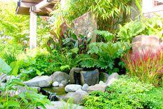 Modern Blue Ridge Asian Garden Design