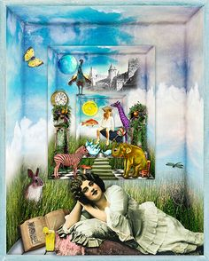 'Wondrous Things' created by Beth Todd©2013 using images from designers  at Deviant Scrap.~ Full credits in linked image.