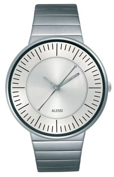 Luna - Alessi watch (silver)