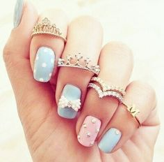 Nails Love| via tumblr
