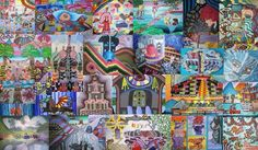 Some of my Painting together for my Buisness Card... Making a new one soon with updated Painting, New Paintings Drawings, Comic Books and Poetry Books...
