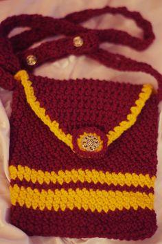 Crochet Gryffindor Purse