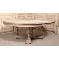 Antique Furniture | Antique Dining Furniture | Dining Tables | Louis XIV Dining Table With Leaf | www.inessa.com