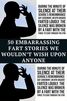 Humans get gas in their intestines and release it. That is a fact. For those that go through life only ever passing silent, non-noxious gas, kudos to them. They've probably never suffered the heights of embarrassment that those on the other end of the scale have. Here are 50 times people where people had horrifying fart experiences.