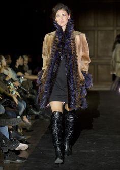 Designer: Dominique Ouzilleau Inc. Autumn Fashion, Fashion 2015, Fur Coat, Textiles, Dominique, Images, Jackets, Style, Fashion