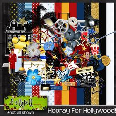 Scrapping with Jenn: Lights, Camera, Action! New kit from Kellybell Designs!!!
