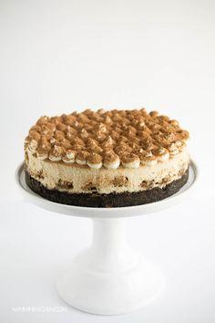 Tiramisu Cheesecake | This is one of the best cheesecakes I've ever had! AmyintheKitchen.com