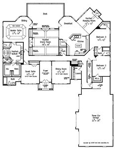 Love magnolia springs frank betz associates inc for Southern living house plans with keeping rooms