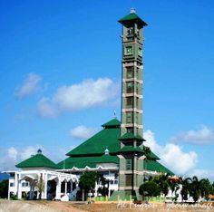 Masjid Agung Al Furqon Bandar Lampung, Indonesia