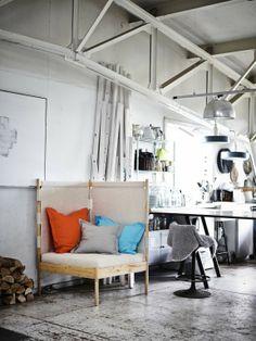 Das passende Möbelstück für eine gemütliche kleine Kuschelecke. #homestory #home #interior #ikea #decoration #furniture #designer