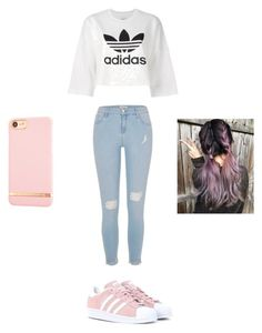 """""""Hip-Hop class 101😏"""" by jaila-horton on Polyvore featuring adidas Originals, River Island and Richmond & Finch"""