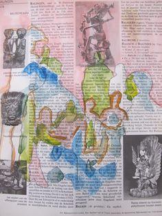 ABK Mortsel opdracht 8 vorm restvorm werk van Thomas