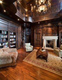 nice little den/library