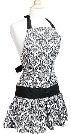 Flirty Aprons Flash Sale: New Damask Style $19.47 SHIPPED!