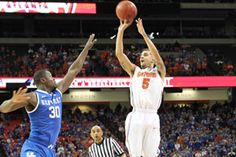 SEC Tournament MVP Scottie Wilbekin scored 11 points Sunday, but his defensive stop at the end was the difference. Florida Gators Basketball, Nail Biting, Free Throw, Championship Game, Love To Meet, Scottie, Smiley, Athletes, Atlanta