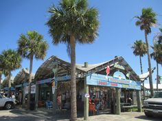 Bron's Bar & Shaved Ice in Port Aransas, Texas.