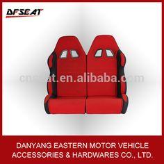 racing Go Kart dual Seat/go kart racing seat/2 seat go kart