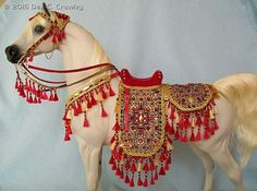 Arabian Showring Style Costumes by Dee C. Crawley - model horse tack