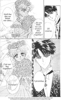 "Usagi & Mamoru wedding from ""Sailor Moon"" series by manga artist Naoko Takeuchi. Sailor Moon Usagi, Sailor Moon Art, Sailor Jupiter, Sailor Moon Background, Sailor Moon Wallpaper, Sailor Moon Crystal, Disney Marvel, Sailor Moon Wedding, Thor"