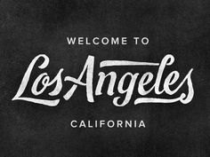 trendgraphy: Los Angeles by Joseph Alessio Twitter: @visualvibs