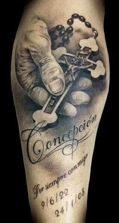 The detail in the hand and cross... Very cool!!