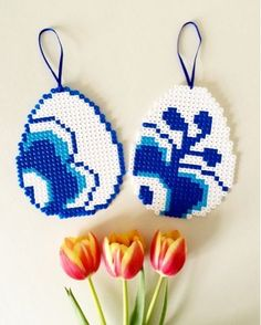 Billedresultat for hama kaj boysen Pearler Bead Patterns, Perler Patterns, Bead Crafts, Diy And Crafts, Hama Beads Design, Peler Beads, Iron Beads, Melting Beads, Beaded Cross Stitch
