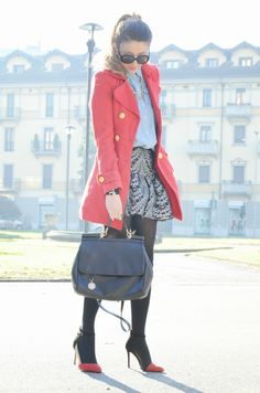 #fashion #fashionista Nicoletta Scent of Obsession - Fashion Blogger daily style, travels and style tips : DEEP RED