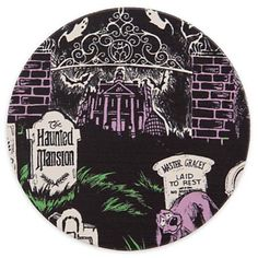 Your WDW Store - Disney Coaster - Attraction Poster Art - Haunted Mansion