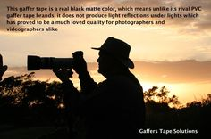 Gaffers Tape Solutions  #Photography #Camera Gaffers Tape Solutions is a multi-purpose tape and therefore has many possible uses in the Entertainment and Photography Industry.  http://gafferstapesolutions.com/amazon-gaffer-tape/