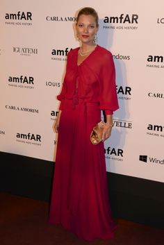 Kate Moss at amfAR's Inspiration Gala Sao Paulo